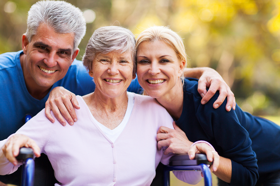 Elder Care in Belmont CA: Getting More Help from Family Members